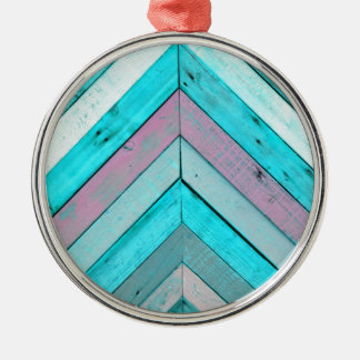 Wood background christmas ornament