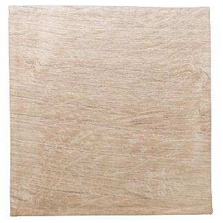 Wood background napkin