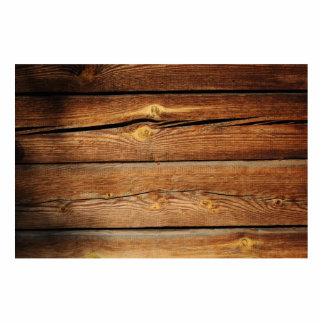 Wood Background Photo Cutouts