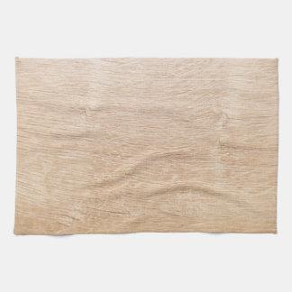Wood background tea towel