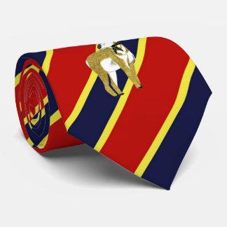 Wood Badge Antelope Striped Dress Tie