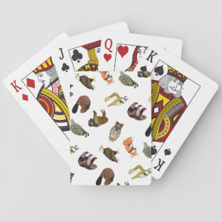 Wood Badge Critter Playing Cards