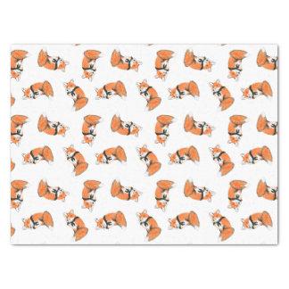Wood Badge Fox Tissue Paper