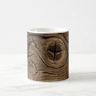 Wood Bark Coffee Mug