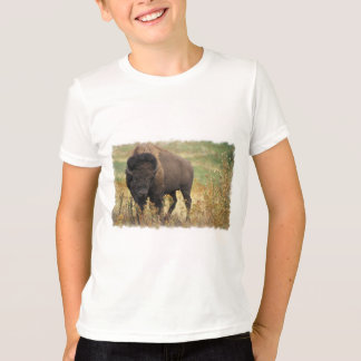Wood Bison Kid's T-Shirt