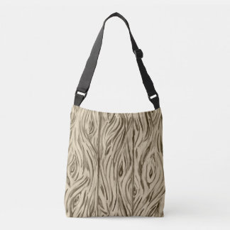 wood boards crossbody bag
