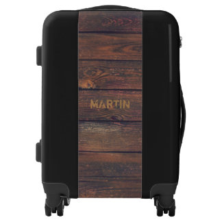 WOOD BOARDS seamless pattern + your ideas Luggage