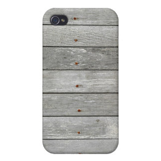 Wood Boards With Rusty Nails 1 iPhone 4 Case