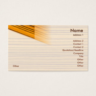 Wood - Business Business Card