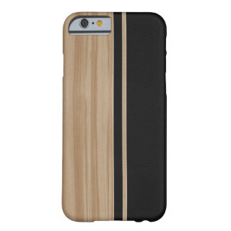 Wood & Carbon Fiber iPhone 6 case Barely There iPhone 6 Case