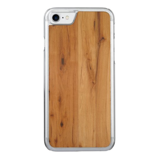 wood carved iPhone 8/7 case