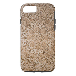wood carved textures iPhone 7 case