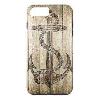Wood Carving (Anchor) iPhone 8 Plus/7 Plus Case