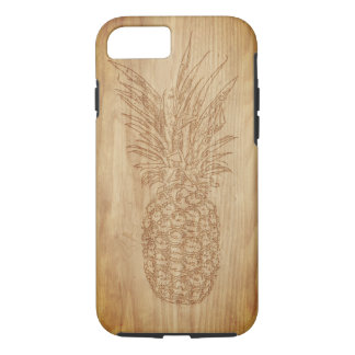 Wood Carving Pineapple Phone Case