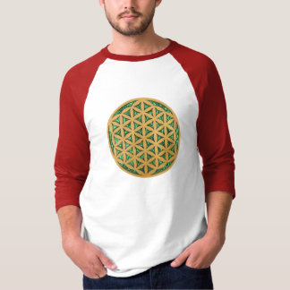 Wood Carving Scroll Saw Art of Flower of Life T Shirts