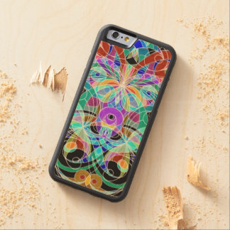 Wood Case iPhone 6 Ethnic Style