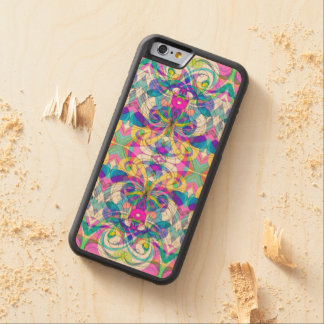 Wood Case iPhone 6 Indian Style