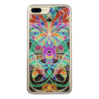 Wood Case iPhone 7 Plus Ethnic Style