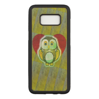 Wood Case - Owl