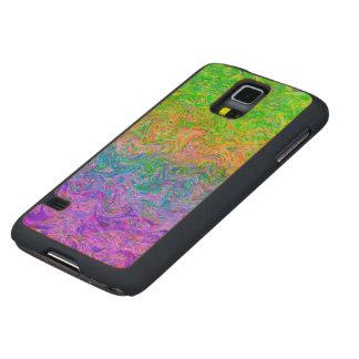 Wood Case Samsung Galaxy S5 Fluid Colors