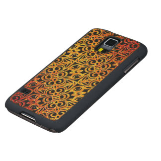 Wood Case Samsung Galaxy S5 Indian Style
