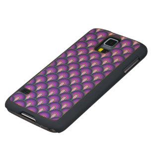 Wood Case Samsung Galaxy S5 Retro Pattern