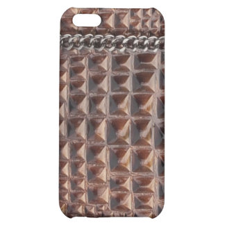 Wood & Chain link faux IPhone case Case For iPhone 5C