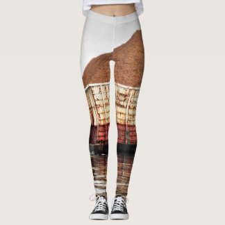 WOOD CHIP BARGE LEGGINGS