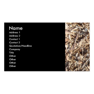 Wood Chips Pack Of Standard Business Cards