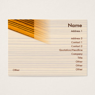 Wood - Chubby Business Card