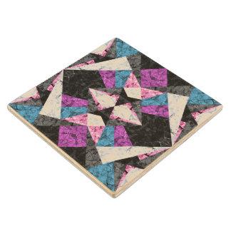 Wood Coaster Marble Geometric Background G438