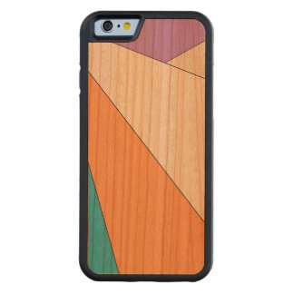 Wood Colroful Carved® Cherry iPhone 6 Bumper Case