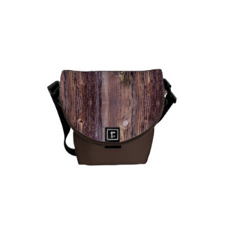 Wood Courier Bag