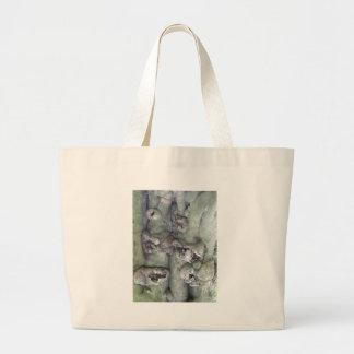 Wood Craft Large Tote Bag