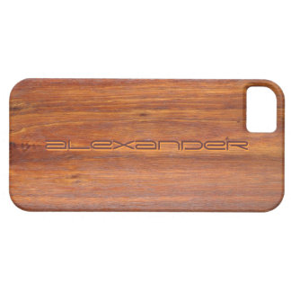 Wood Customized iPhone5 covers