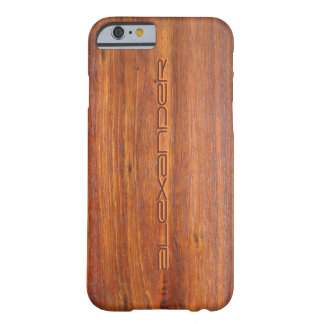 Wood Customized iPhone 6 case covers Barely There iPhone 6 Case