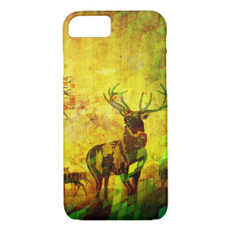 wood deer iPhone 7 case