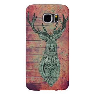 wood deer samsung galaxy s6 cases
