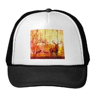wood deers cap