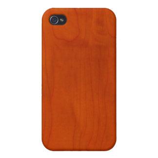 Wood Design 04 iPhone 4 Case