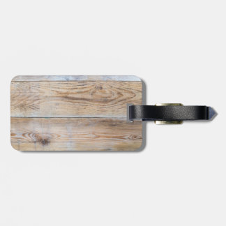 Wood Design luggage tag