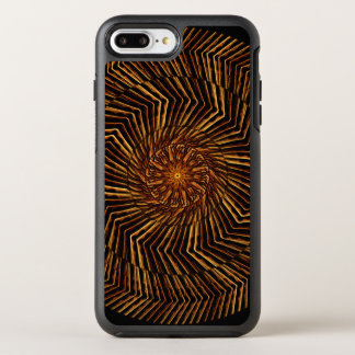 Wood Disk Mandala OtterBox Symmetry iPhone 7 Plus Case