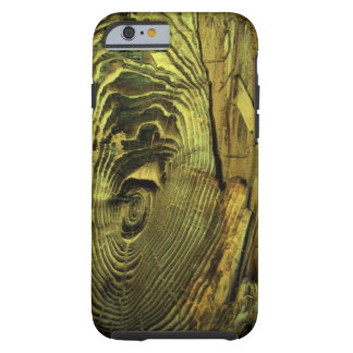 Wood Distressed Burnt Driftwood Tough iPhone 6 Case