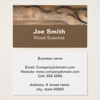 Wood Dragon Business Card