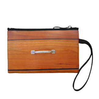 Wood Drawer Handle Coin Purse