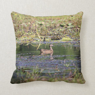 Wood Duck Hen Cushion