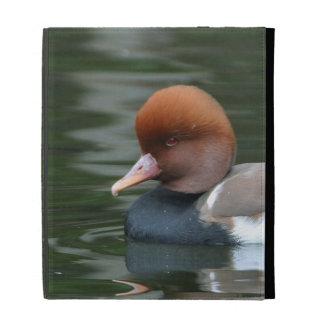 Wood duck iPad folio cases