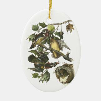 Wood Duck, John Audubon Christmas Ornament