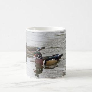 Wood Duck Pair Coffee Mug