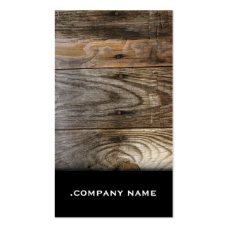 Wood - Elegant Business Card